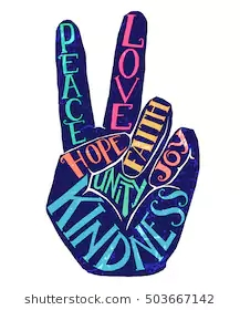 peace-sign-creative-lettering-hand-260nw-503667142